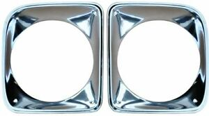 1967 1968 Chevy Truck Headlight Bezels Sold As A Pair