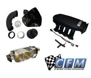 Cfm Twin 67mm Throttle Body Ford Racing Cobra Jet Intake Cold Air Induction