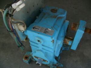 Used Canimex Ch50 1 60 Speed Reducer