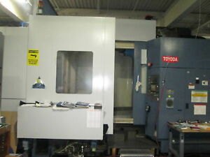 Toyoda Fa1050 Triple 41 Pallet 480v 3ph Cnc Horizontal Machining Center New 01