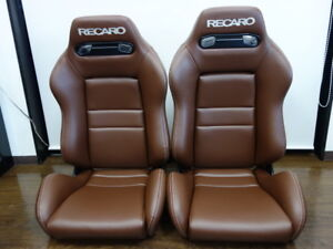 Upholstery Only Recaro Sr 3 Seat Eco Leather New2 Pc