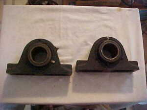 1 One Rex 2 Bearing Pillow Block Model Za 200 Unused Vintage Dirty 2 Available