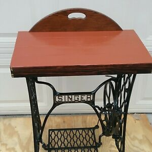 Antique Vintage Singer Sewing Machine Treadle Legs Table Pick Up Only