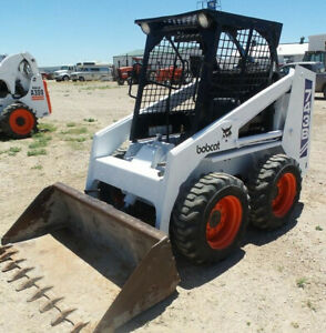 Bobcat 741 742 743 Skid Steer Loader Service Manual Cd Repair Manual