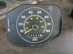 Ford Maverick Mercury Comet Speedometer Works Oem