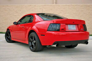 Cbr Style Rear Trunk Wing Spoiler W Opening For Key Hole For 99 04 Ford Mustang