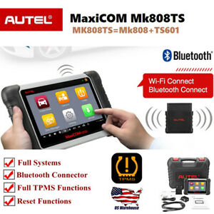 Autel Mk808ts Obd2 Scanner Diagnostic Scan Tool Bluetooth Diagnosis Tpms Abs Epb
