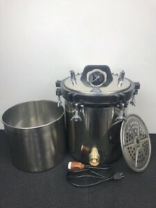 18l Xfs 280a Medical Thick Stainless Steel Portable Pressure Steam Autoclave
