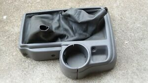 95 04 Toyota Tacoma Pickup Truck Center Console Shifter Bezel Cup Holder Oem