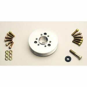 The Blower Shop 4223 Accessory Pulley Big Block Chevy Diameter 6 0 6 Rib