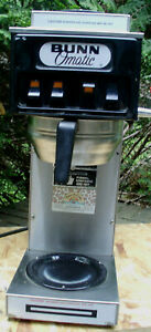 Pre Owned Commercial 3 Warmer Bunn Stf 15 Automatic Coffee Brewer Maker