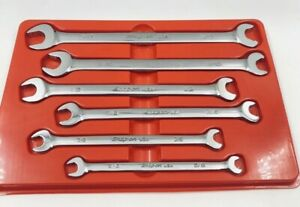 Snap On Srs Standard speed Open End Flank Drive plus Open End Wrench Set 6