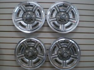 1966 1967 1968 Ford Galaxie 7 Litre Wheelcover Wheel Covers Hubcaps Oem Set