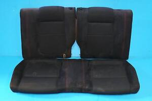 Jdm Acura Integra Type R Dc2 Recaro Rear Seat Red Stitches 1994 2001 Coupe 2 Dr