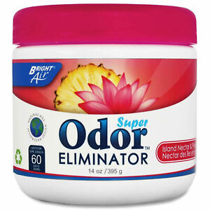 Bright Air Super Odor Eliminator Nectar Pineapple 14 Oz Container Lot Of 1