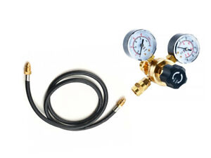 Argon co2 Regulator Gauges With Hose Welding Cga580 Fits Miller Lincoln Mig Tig
