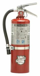 Buckeye Fire Extinguisher Dry Chemical Sodium Bicarbonate 5 1 2 Lb 40b c Ul