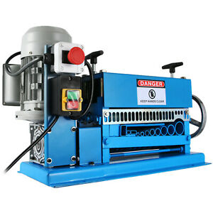 Electric Wire Stripping Machine 1 5mm 38mm Cutting Speed 15 M min Automatic