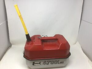 Veg Blitz Fuel Tool Mate Usmc Metal 1 1 2 Gallon Gas Can Tool Box Chainsaw
