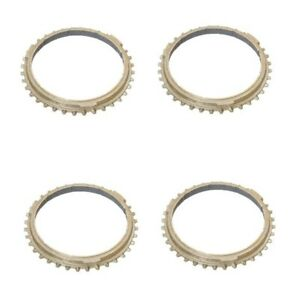 Manual Transmission Synchro Rings Set Of 4 Oe Supplier For Porsche 911 1987 1994