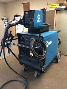 Miller Dimension 302 Mig Tig Stick Welding Welder W S 64 Wire Feeder Package
