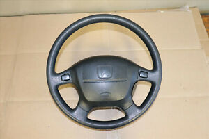 Rare Jdm 96 01 Honda Acura Integra Gsr Oem Srs Steering Wheel Leather B18c