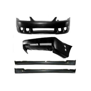 Ford Mustang Saleen Style 4 Pc Poly Full Body Kit 1999 04 44 387838 1