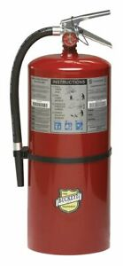 Buckeye Fire Extinguisher Dry Chemical Monoammonium Phosphate 20 Lb