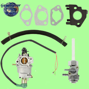 Champion Carburetor W Solenoid Petcock For 41511 41513 7000 9000 Generator