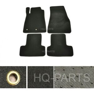 New 4 Pieces Black Nylon Carpet Floor Mats Fit For 05 14 Ford Mustang