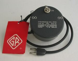 General Radio Type 908 p2 Synchronous Dial Drive Used With 1210 c R c Oscillator