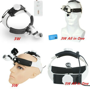 3w 5w Dental Surgery Led Medical Surgical Head Light Headlamp All in one Type Aa