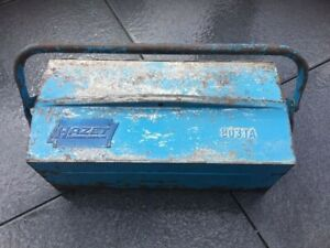 Hazet Tool Box 803ta Tools Worker Old Vw Dealer Beetle Split Porsche