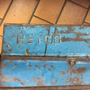 Heyco Tool Box From 1953 Tools Worker Old Vw Dealer Beetle Split Porsche