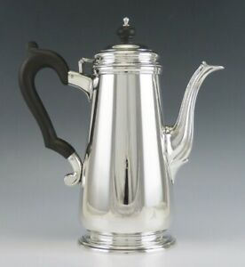 Antique C1920 Sterling Silver Tiffany Co Lighthouse Style Coffee Or Tea Pot