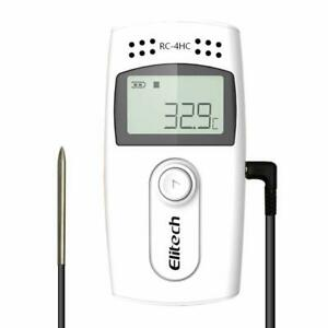 Elitech Rc 4hc Usb Temperature Humidity Data Logger Temperature Recorder Monitor