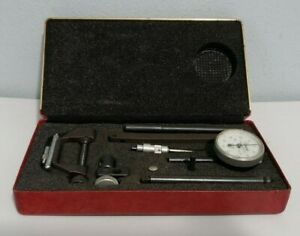 Vintage Central Tool Co Universal Dial Test Indicator Set 201 W Case
