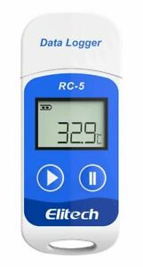 Elitech Rc 5 Usb Reusable Temperature Data Logger Temp Recorder With Pdf Report