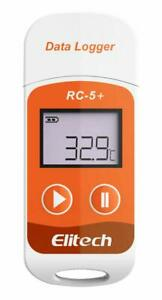 Elitech Rc 5 temperature Monitor Data Logger Recorder Pdf Reporter 32000 Points