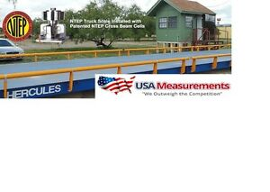 Usa Measurement 40 X 10 Ft Truck Scale 100 000 Lb Steel Deck Ntep Approveds