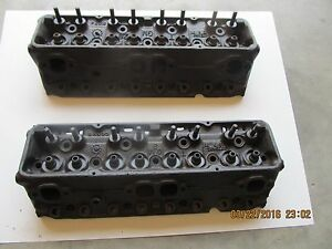 1971 Chevy S b 400 Heads Cast 3978496 1 94 1 60 D 6 71 Cleaned magnafluxed