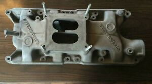 Ford 289 302 Offenhauser 360 Offy Aluminum Intake Manifold Used 4 Barrel Sbf