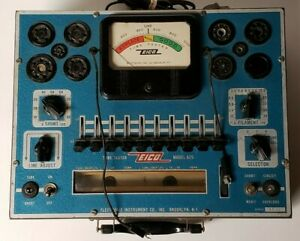 Eico Model 625 Tube Tester Electronic Instrument Co Tested