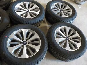 20x8 5 2018 Ford F150 Factory Wheels And Hankook Atm 275 55r20 113t Tires