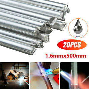 Easy Melt Welding Rods Low Temperature Aluminum Wire Brazing 20pcs 1 6 500mm New