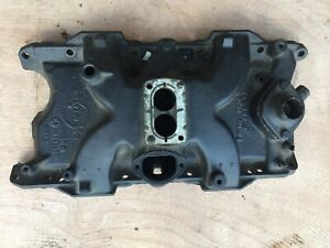 Mopar 2 Bbl Barrel Small Block Engine Intake Manifold Challenger 318 273 340