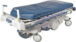 Stryker 1025 Zoom 700lbs Hospital Bed Transport treatment Medical Stretcher