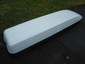 Used Ski cargo Box storage 92 Carrier Rooftop Heavy Duty