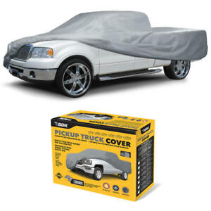 Full Truck Cover Fits Ford Pickup Water Resistant Indoor Uv Dirt Dust Protection