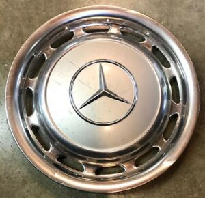 1969 1983 Mercedes Benz 240d 450 Sel 300 Series Silver Hubcap Wheel Cover